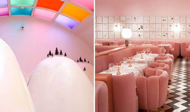 Com ambientes fabulosos, Sketch reúne galeria de arte, bar e cafeteria em Londres