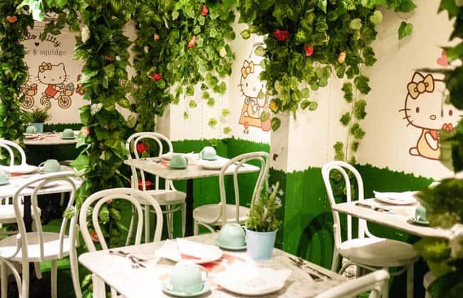 Padaria inspirada na Hello Kitty tem doces e chá da tarde famosos em Londres