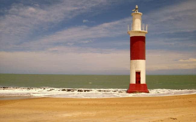 Faro de Galinhos, Río Grande do Norte, Brasil
