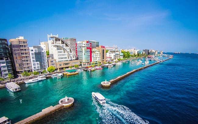 As Ilhas Maldivas
