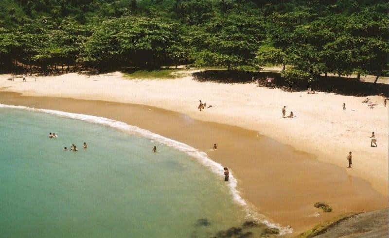 praias paradisíacas guarapari es