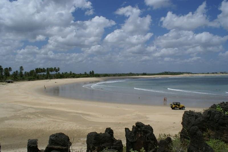 praias paradisíacas são miguel do gostoso