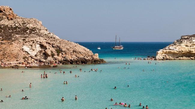 Lampedusa, na Itália