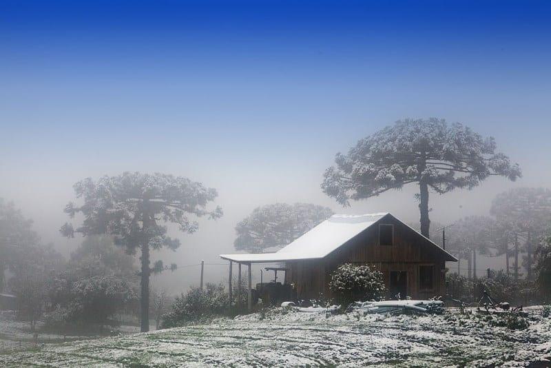 neve no Brasil