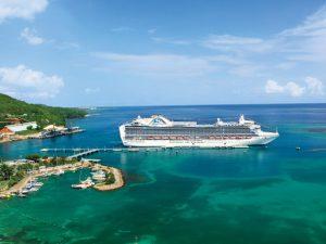 8 cruzeiros para o Caribe