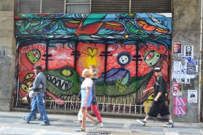 10 lugares para ver a arte urbana em São Paulo