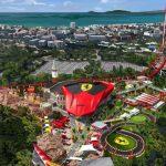Parque de diversões da Ferrari é inaugurado próximo a Barcelona
