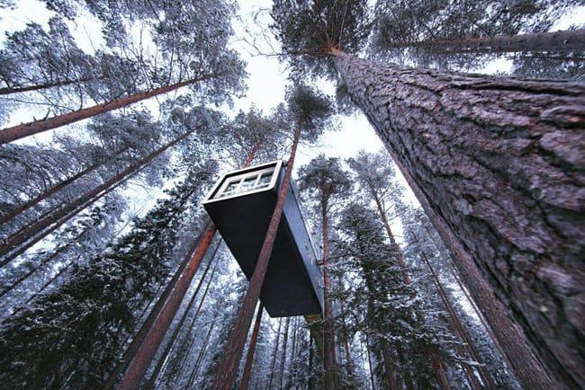 Hospedagem dos Sonhos: Treehotel, na Suécia