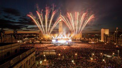 Canadá celebra 150 anos com grandes festas ao redor do país durante 2017