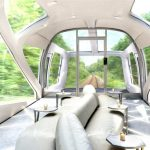 Novo trem de luxo do Japão passa por montanhas, litoral, templos e vinhedos