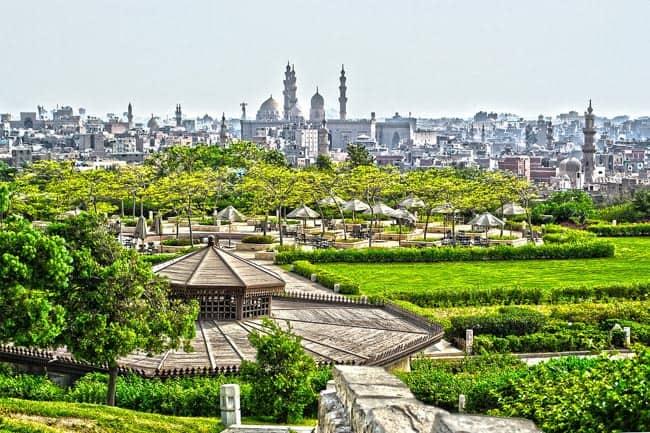Antigo lixão se transforma no Parque Al-Azhar, um dos mais lindos do Cairo
