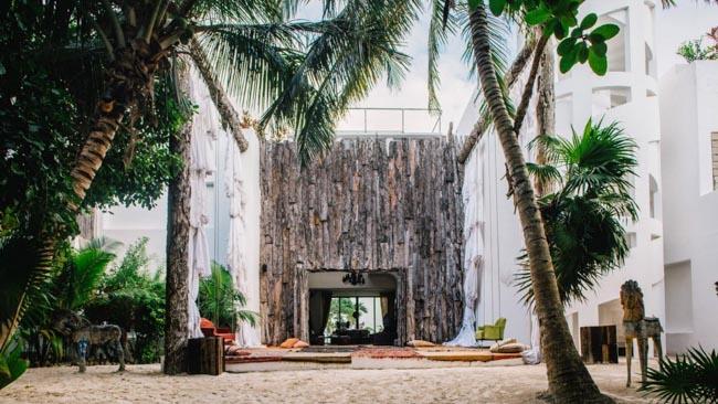 Antiga casa de Pablo Escobar se transforma em um belo hotel boutique no México