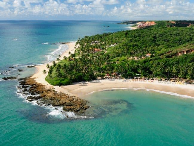 Entregue-se às belezas surpreendentes da Costa do Conde, na Paraíba