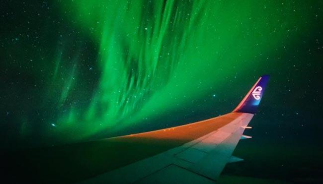 Empresa lança voos para ver a aurora austral na Nova Zelândia