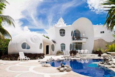 Hospedagem dos Sonhos: Seashell House, no México