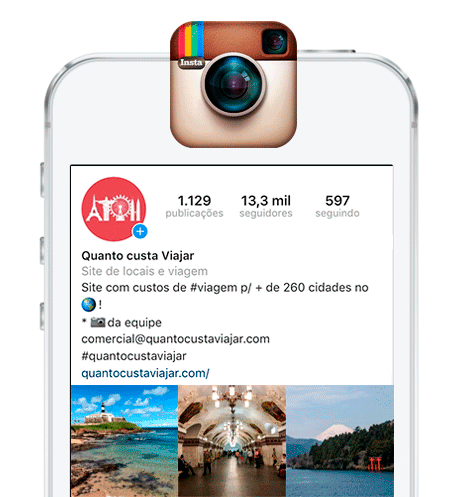 Instagram Quanto Custa Viajar