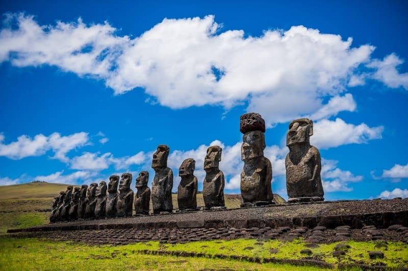 ilha de pascoa conhecer no Chile