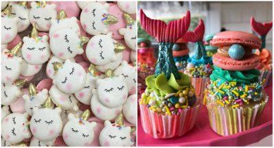 Goodies Bakery, em Curitiba, cria doces temáticos coloridos com sereismo e unicórnios