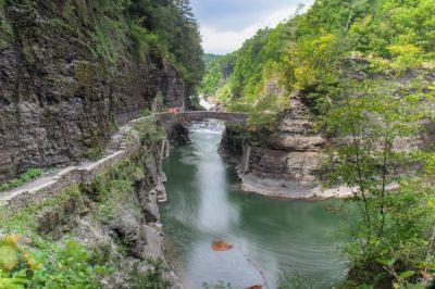 Parque Nacional Letchworth, em Nova York, é uma das áreas mais magníficas dos EUA