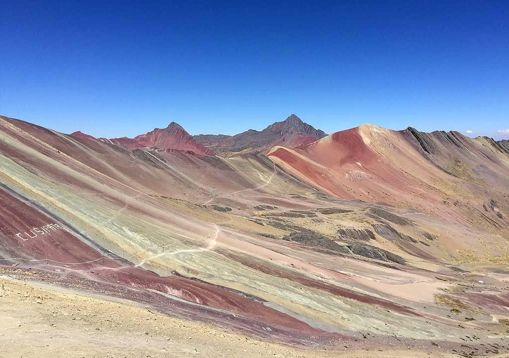 montanhas coloridas no peru