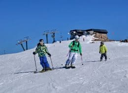 Batismo de Ski para iniciantes