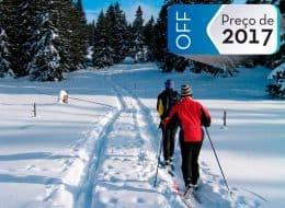 Ski Nordico no Cerro Otto