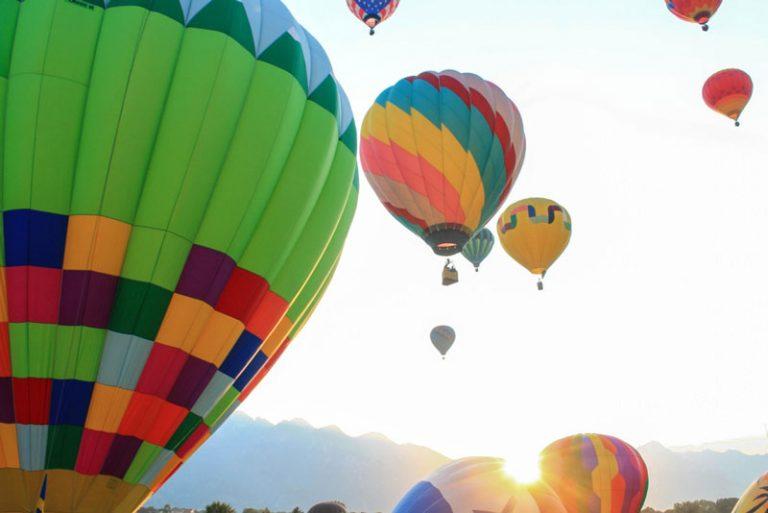 Destino de aventura, Brotas agora conta com passeio de balão!