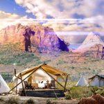 Hospedagem dos Sonhos: Under Canvas Zion, no EstadosUnidos