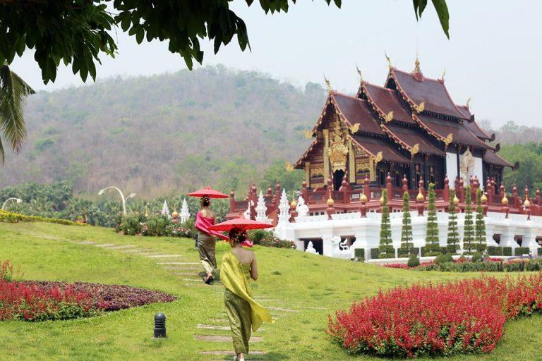 Conheça os jardins do Royal Park Rajapruek, um dos maiores atrativos de ChiangMai