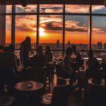 Crystal Bar oferece drinks e uma bela vista panorâmica de Buenos Aires