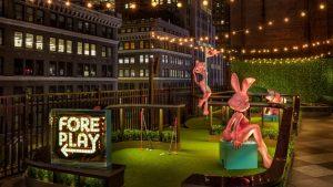 No topo de um prédio, bar Magic Hour em NY é um playground paraadultos