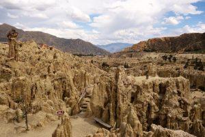 Vale da Lua oferece paisagem surreal a apenas 10 minutos de La Paz, na Bolívia
