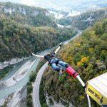 Que tal pular de Bungee Jump na maior ponte suspensa daRússia?