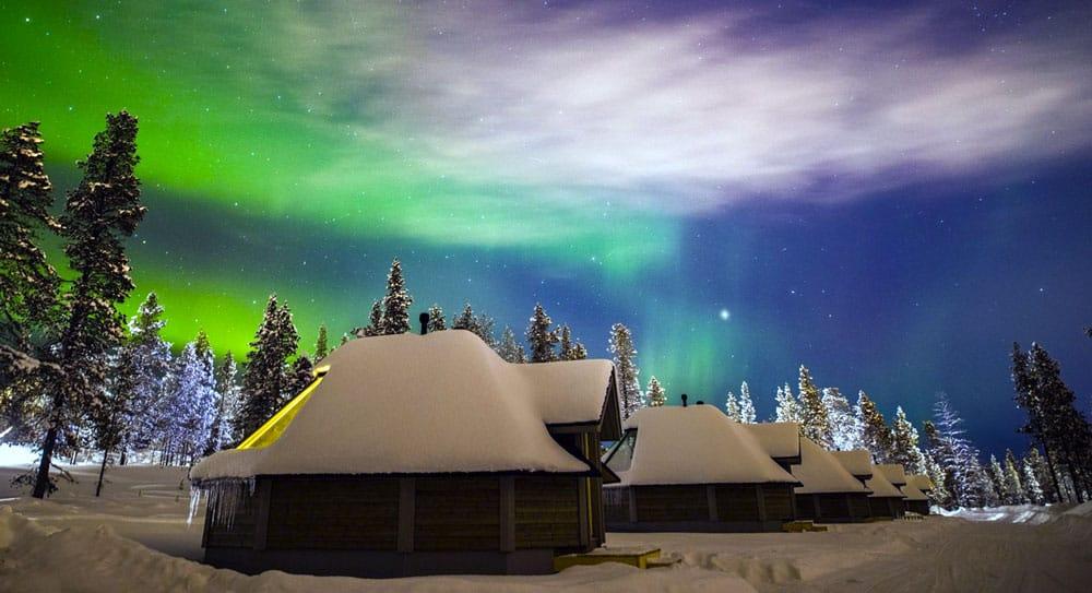 10 hotéis para ver a aurora boreal comconforto