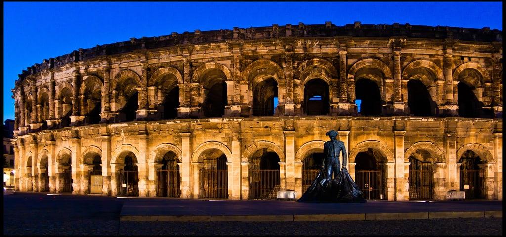 Nîmes é a mais romana das cidades francesas