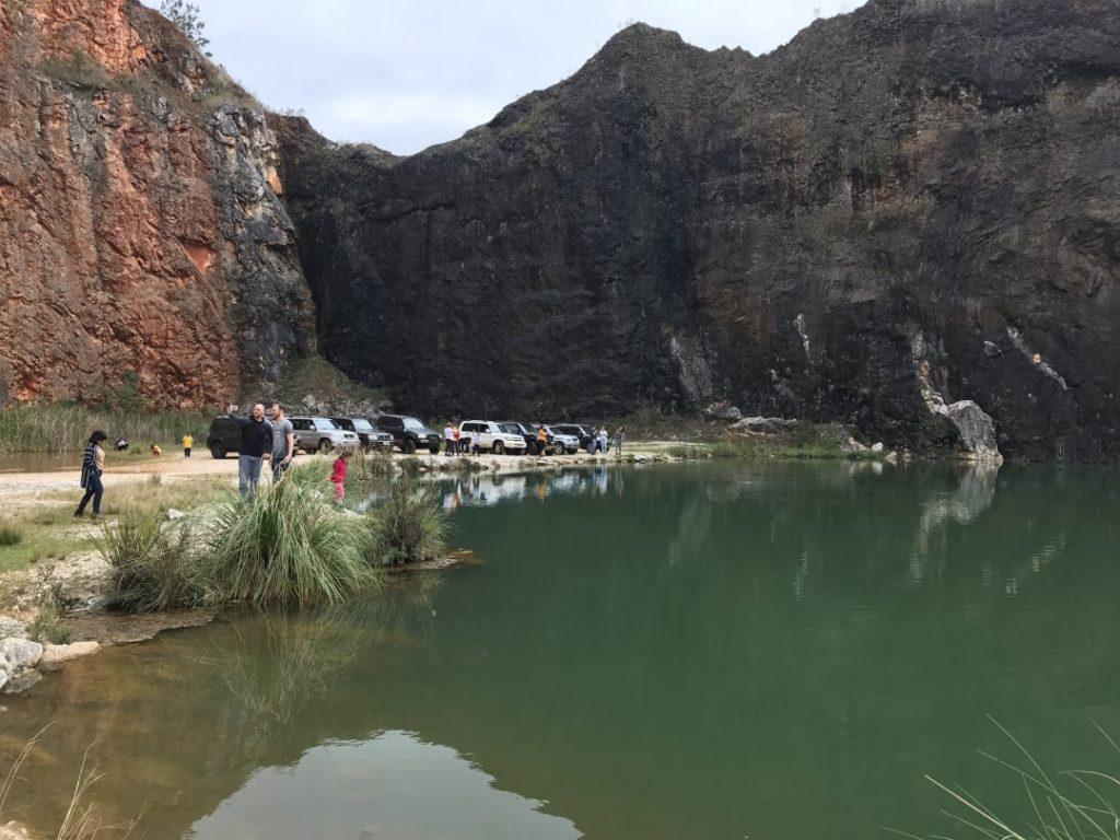 Pedreira da Lagoa Azul em Campo Magro