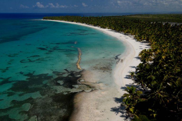 Ilha Saona, em PuntaCana, é a praia mais visitada da República Dominicana