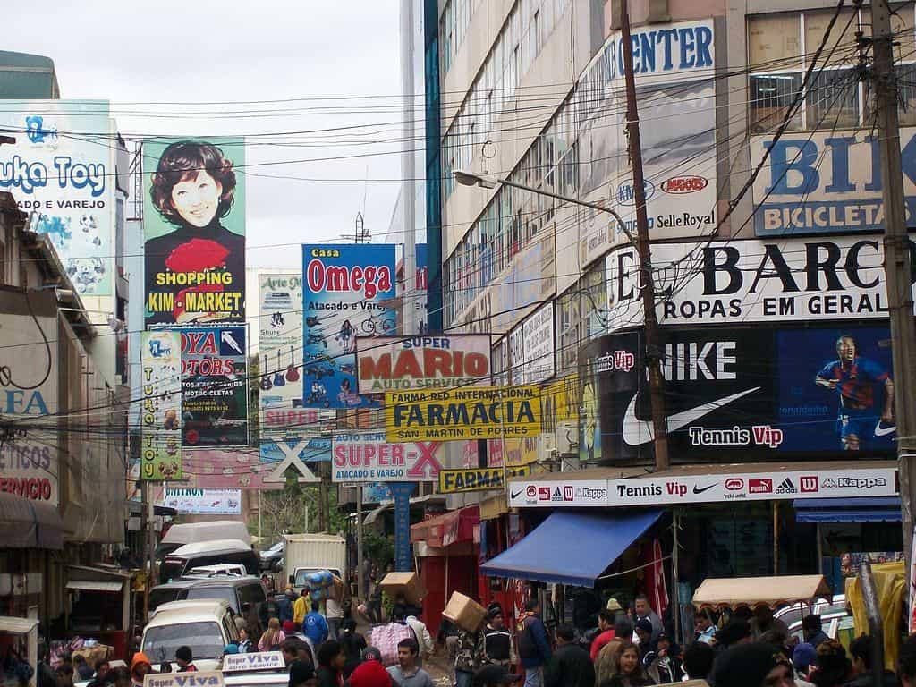 fazer compras no paraguai