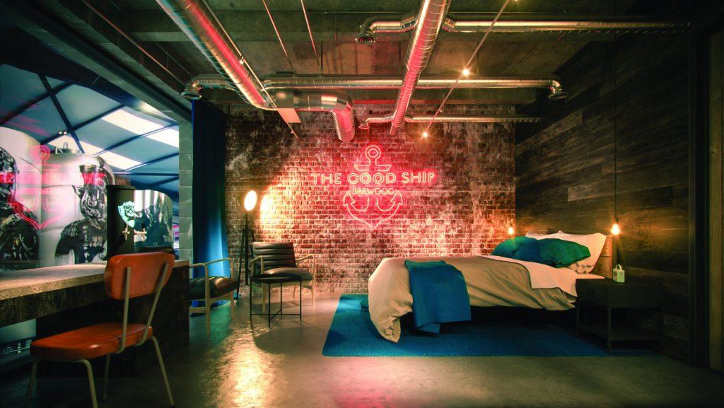 BrewDog abre hotel cervejeiro no Estados Unidos, com torneiras da bebida nos quartos