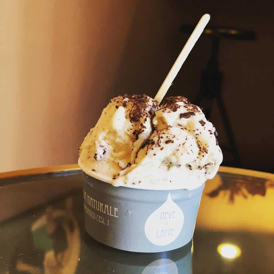 melhores sorveterias em roma