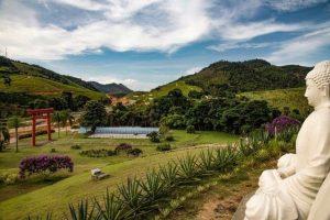 O primeiro mosteiro zen-budista da América Latina fica no Brasil