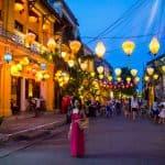 Os encantos da iluminada Hoi An, noVietnã