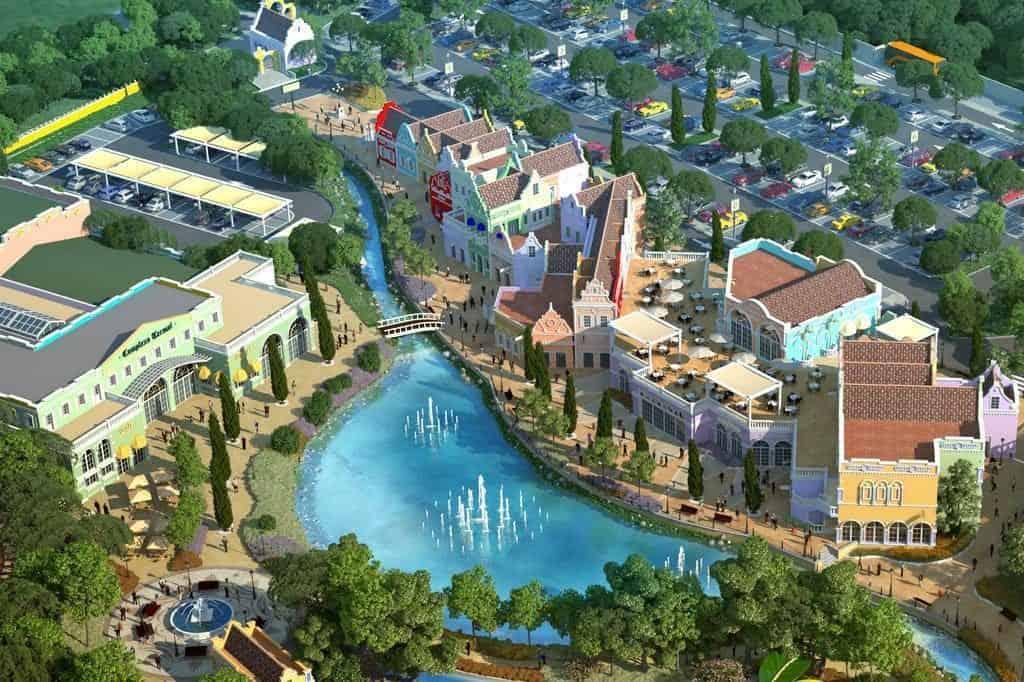 Parque de águas termais inspirado na Holanda atrai turistas até Santana do Livramento, no Sul do Brasil