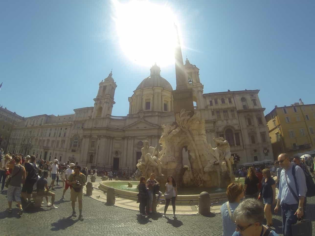passeios gratuitos em roma