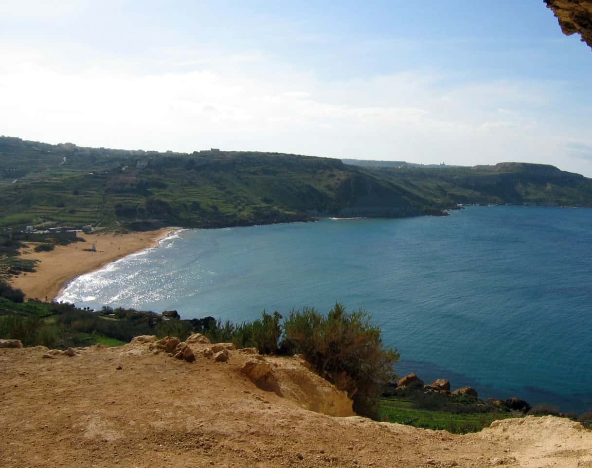 praias paradisiacas em malta