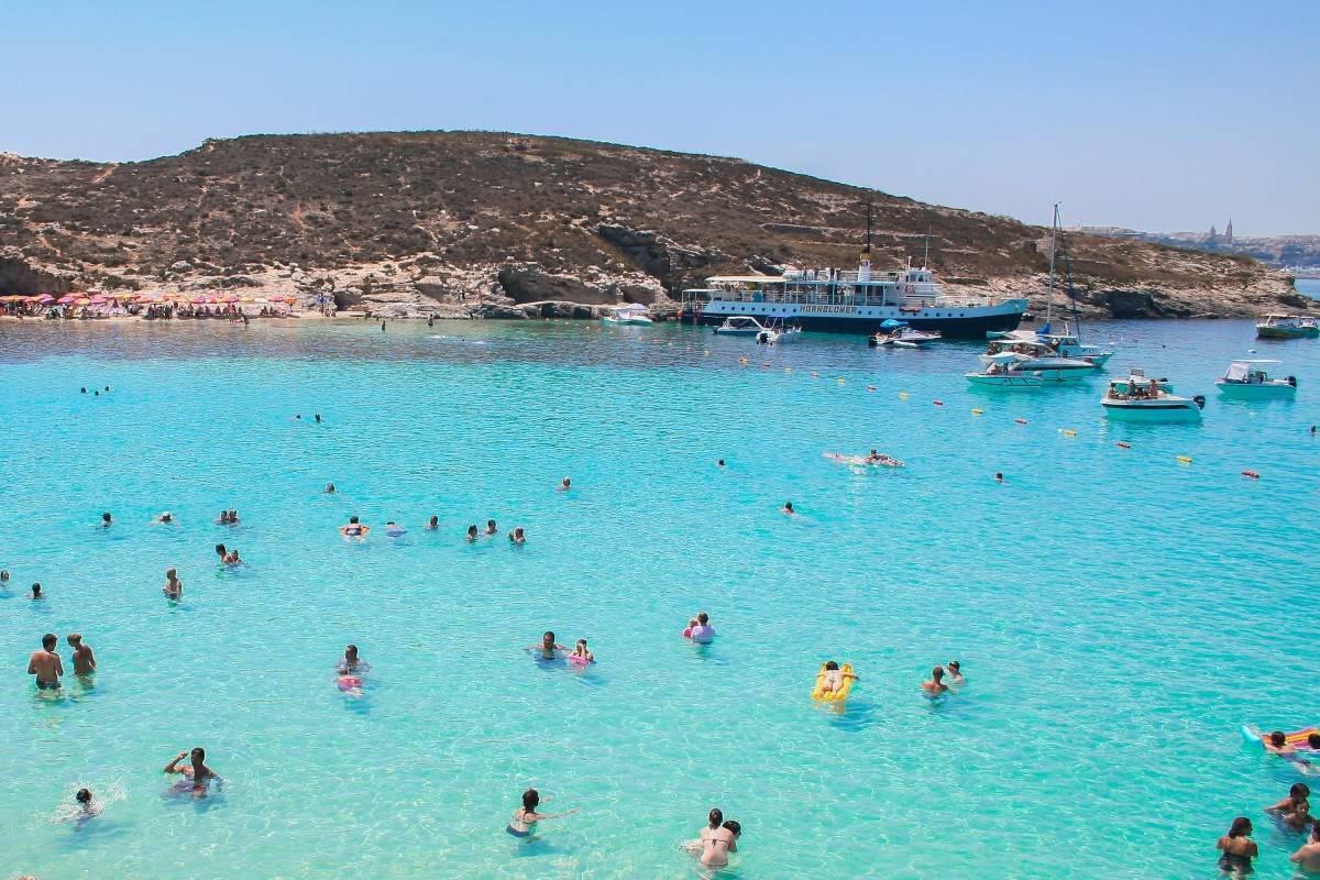 praias paradisíacas em malta