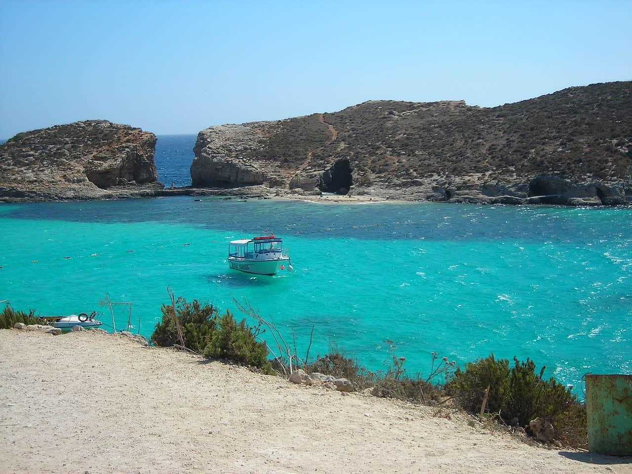 praias paradisicas em malta