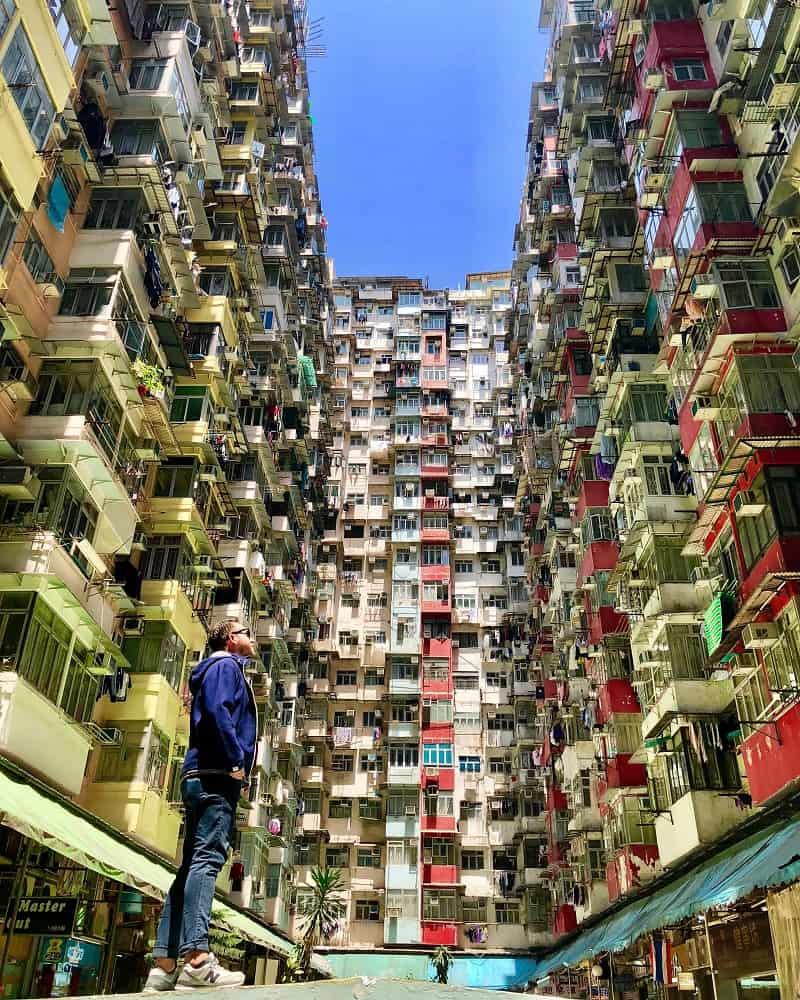 Nômade digital em Hong Kong