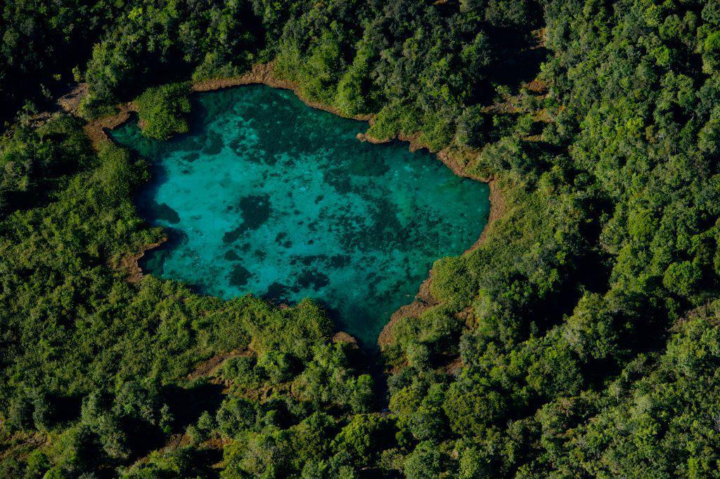 Lagoa Azul em Primavera do Leste hipnotiza moradores e turistas em dias quentes