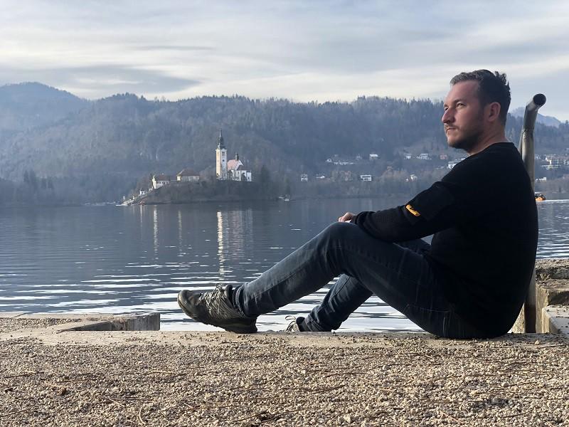 Lake Bled, na Eslovênia
